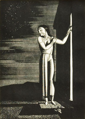 Rockwell Kent - Starry Night
