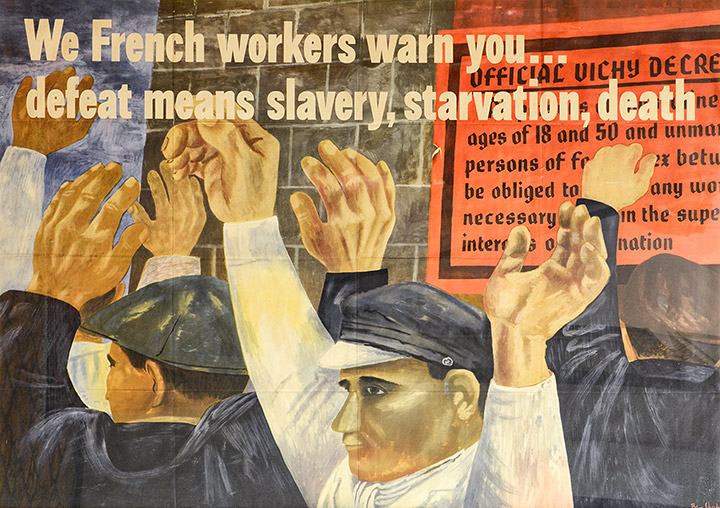 Ben Shahn - French Workers