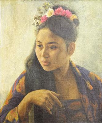 Basoeki Abdullah - Portrait
