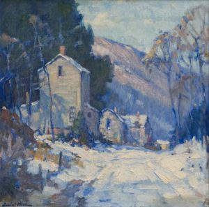 Junius Allen - Winter Scene