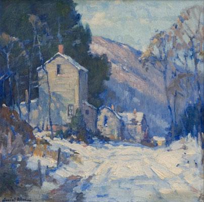 Junius Allen - Winter Scene