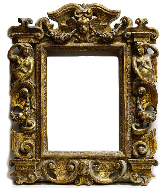 Carved Figurative Frame