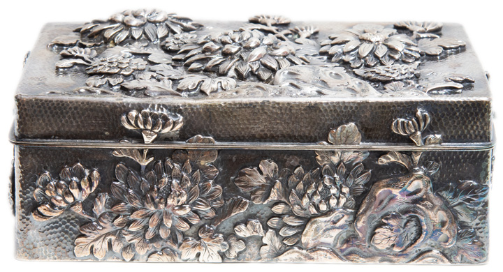19th Century Sterling Box