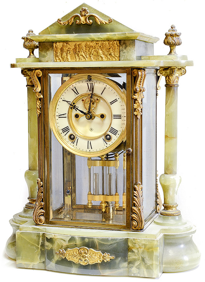 Ansonia Gonfalon French Clock
