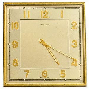Art Deco Tiffany Clock