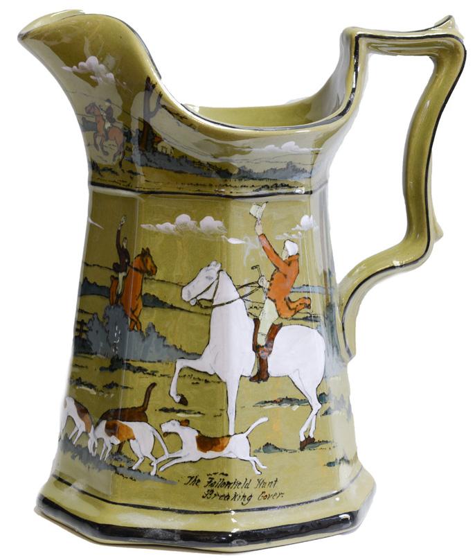 Buffalo Deldare Pottery