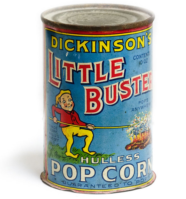 Dickinson's Little Buster Popcorn Can