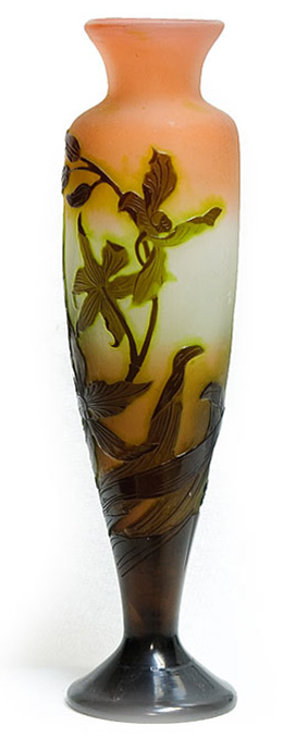 Galle Art Glass Vase