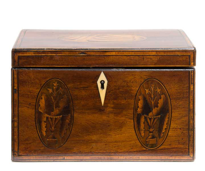 King George III Tea Caddy