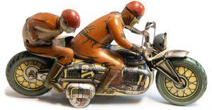 Marx Toy Motorcycle
