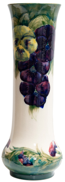 Early Moorcroft Pansy Vase (Cobridge)