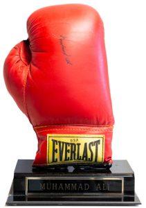 Muhammad Ali Boxing Glove