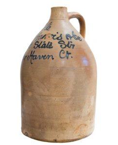New Haven Stoneware Jug
