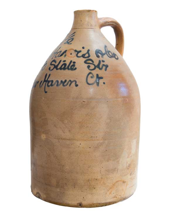 New Haven Stoneware Jug