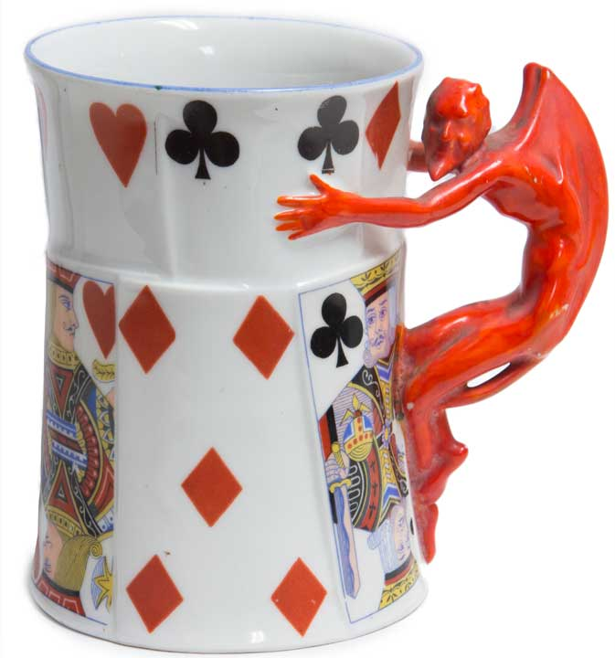 Royal Bayreuth Devil Mug