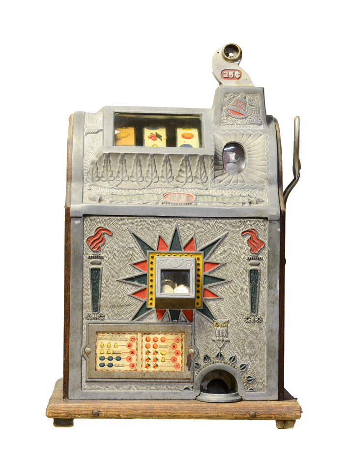 Vintage Quarter Slot Machine