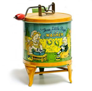 Three Little Pigs Washer Tin