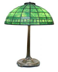 Green Tiffany Lamp