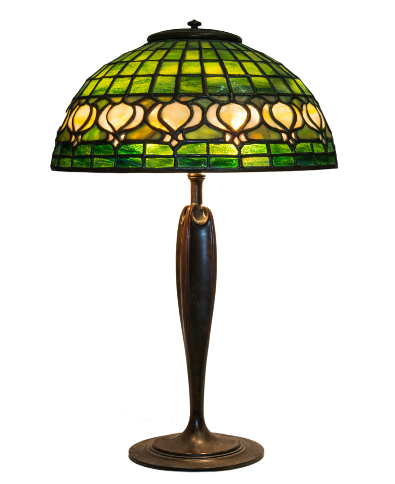 Pomegranate Tiffany Lamp