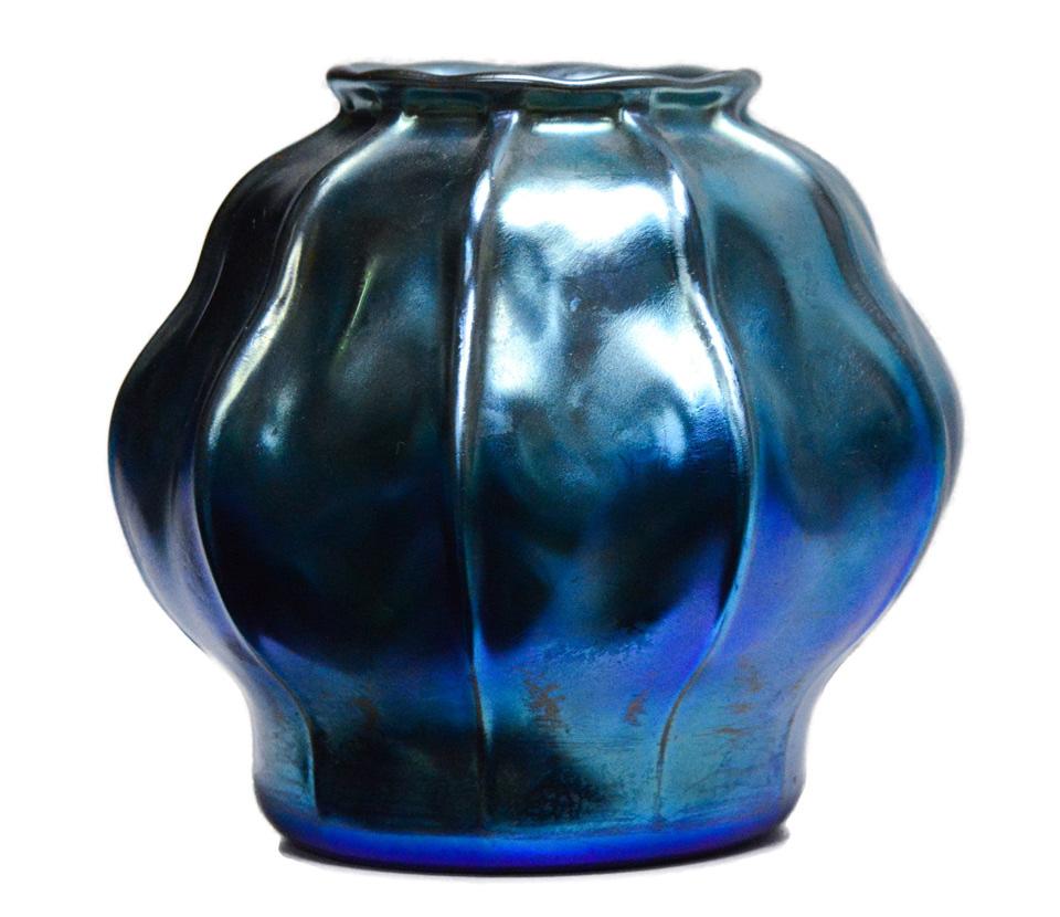 Tiffany Short Vase