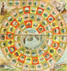 World Globe Circler Board Game