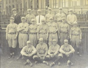 Yale Baseball Team Photograph