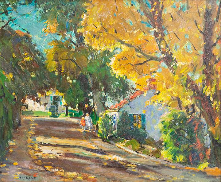 Antonio Cirino - Early Fall in Rockport, MA