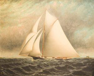 E.T. Baker - Marine Painting