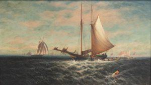 E.T. Baker - Ships at Sea