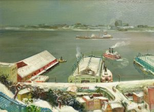 Cecil Bell - East River NY
