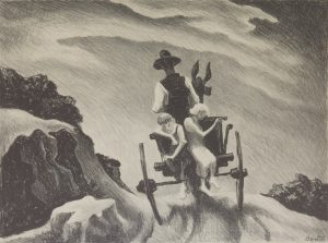 Thomas Hart Benton - Goin Home