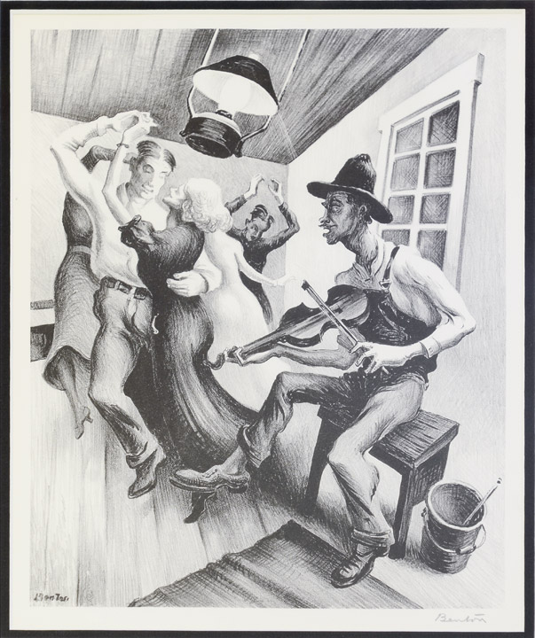 Thomas Hart Benton - Got a Gal on Sourwood Mountain