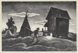 Thomas Hart Benton - Night Firing