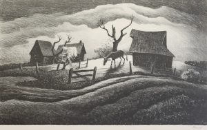 Thomas Hart Benton - Rainy Day