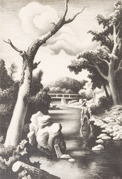 Thomas Hart Benton - Shallow Creek