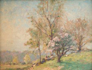 Frank Bicknell - Apple Blossom Time