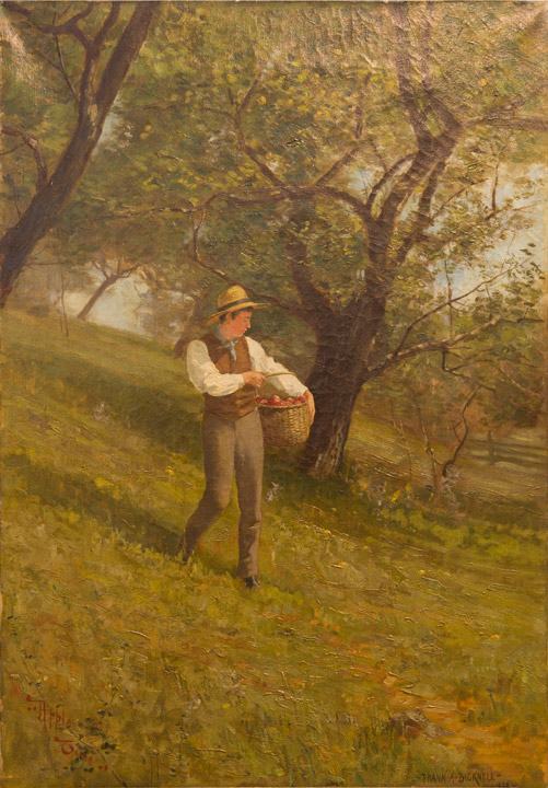 Frank Bicknell - Apple Picking Time
