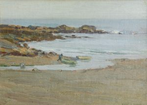 Frank Bicknell - Low Tide, Perkins Cove, Maine