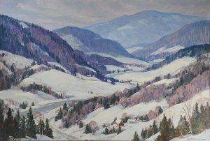 Leo Blake - Snow Scene
