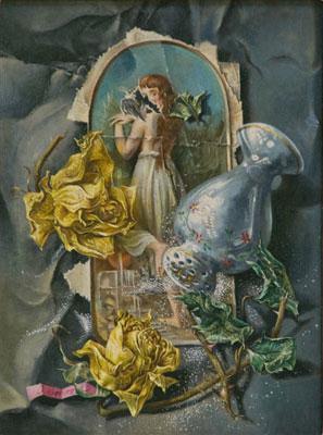Aaron Bohrod - Surrealist Still Life