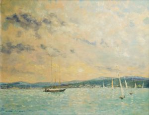 Jacques Bouyssou - Sailboats