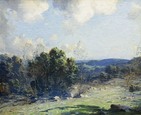 George Bruestle - Connecticut Landscape 1