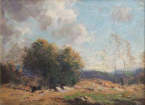 George Bruestle - Old Lyme Landscape 2