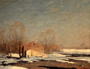 George Bruestle - Winter in Lyme