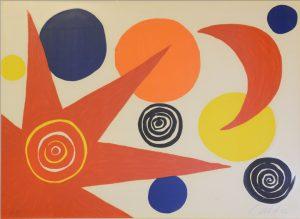 Alexander Calder - Circles & Triangle