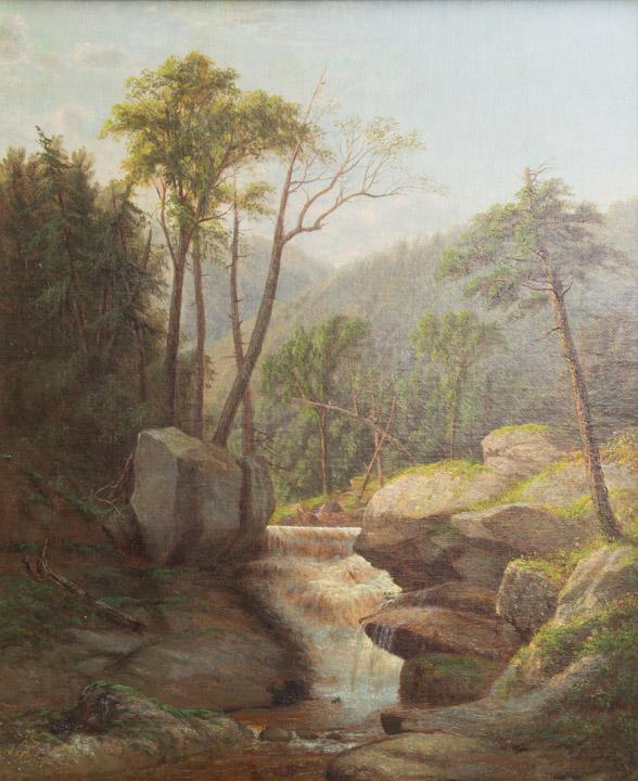George Candee - Bethany CT Waterfall