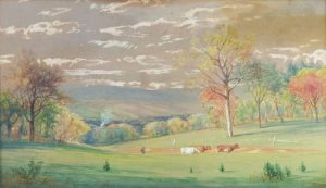 George Candee - Cows in a Pasture