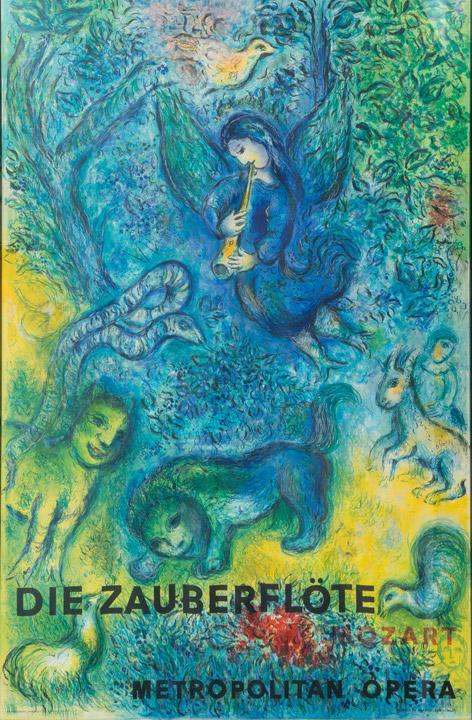 Marc Chagall - Die Zauberflote Metropolitan Opera