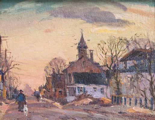 Antonio Cirino - Road to Village