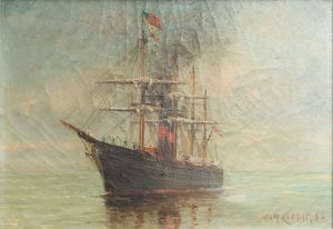 William Henry Coffin - Marine Painting
